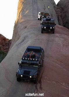 H1 Hummers on Lions Back