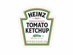 Heinz tomato ketchup dollhouse miniature printable label
