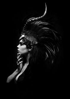 "dreamsinmonochrome: "" Alexandra Matthews in ""Midnight"" by Daniel Jung for Superior Magazine """