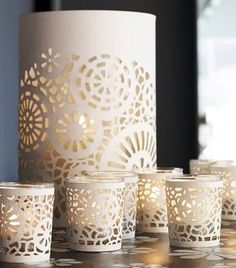 Tea Light Laser Cut