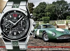 CrankAndPiston.com Article on the Scalfaro-DB4GTZ-1960-Spada-Edition. Aston Martin DB4GTZ The DB4 GT Zagato inspired the Scalfaro DB4GTZ 1960 Spada Watch Edition #aston #db4gtz #db4 #db4gt #gt #ercole #spada #2vev #1960 #scalfaro #cars #watch #wristwatch #legend #icon #edition #limited #swiss  See www.scalfaro.com/db4gtz/ for more details on the Scalfaro DB4GTZ 1960 Spada Watch Edition