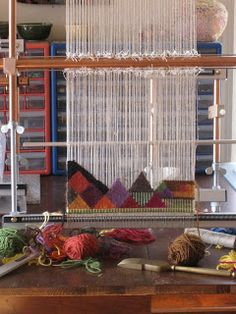 A Word From Claudia: Tapestry weaving