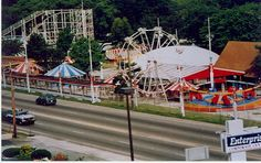 Sauzer's Kiddie Land!! I remember the train ride that took you all around the perimeter of the park.