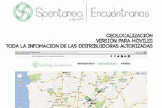 ¿Quieres conocer nuestros puntos de venta autorizados?. Ingresa a nuestra nueva aplicación web http://www.spontanea.co/encuentranos 100% compatible con dispositivos móviles. Encuentra ya el más cercano. Siempre