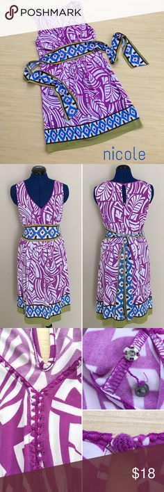 Selling this nicole by Nicole Miller Dress Size 6 on Poshmark! My username is: lradivan. #shopmycloset #poshmark #fashion #shopping #style #forsale #Nicole by Nicole Miller #Dresses & Skirts