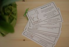easter story printable cards