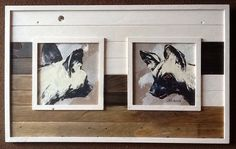 Lin Barrie art in Pallet Wood frame My Art Studio, African, See Images, Hanging Art, Painting, Art, African Art, My Arts, Repainting