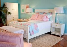 Lilly pulitzer bedding coral - Bed : Home Design Ideas #