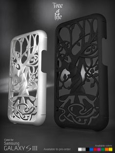 """Samsung Galaxy S3 case """"Tree of life"""" Made to pre-oder (3d printed) http://www.shapeways.com/designer/Models3dprinter"""