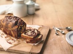 This Easy Marble Cake recipe uses only 7 ingredients!