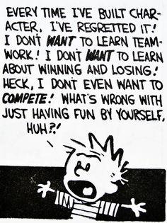 Oh Calvin