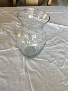 """Medium Sized Vases left over from wedding 6 about 8"""" High $2 each"""