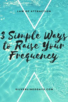 Raising your frequency helps build momentum to move you forward towards your goals and ultimately, the life you desire.   Not sure where to start? Here are 3 easy ways to get started.. reiki healing | energy healing | holistic healing | chakra healing | law of attraction | spirituality | lightworker | meditation tips | mindfulness | manifestation | inspirational quotes | positive quotes