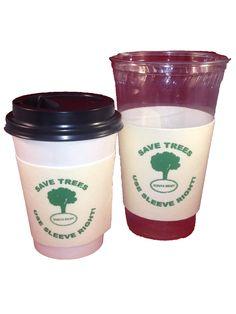 Saving 4 A Sunny Day: Free Coffee Sleeves