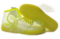 London 2012 Olympics Adidas Obyo Jeremy Scott Wings in Lucid/Yellow