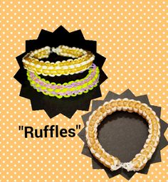 """New """" Ruffles"""" Monster Tail Bracelet/How To Tutorial"""
