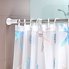 Merveilleux Adjustable Shower Curtain Rods