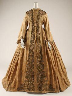 Wrapper ca. 1863 via The Costume Institute of the Metropolitan Museum of Art