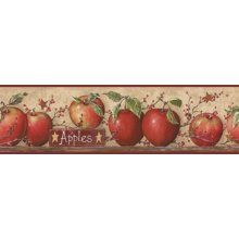 Country Apple Theme In The Kitchen