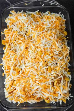 Buffalo Chicken Frito Pie is an easy casserole recipe using shredded rotisserie chicken and diced celery tossed in Buffalo sauce and ranch dressing, all topped with Fritos corn chips and cheese. Cheeseburger Tater Tot Casserole, Cheesy Chicken Casserole, Beef Casserole Recipes, Ground Beef Casserole, Beef Recipes For Dinner, Diet Recipes, Easy Recipes, Chicken Bacon Ranch Bake, Buffalo Chicken