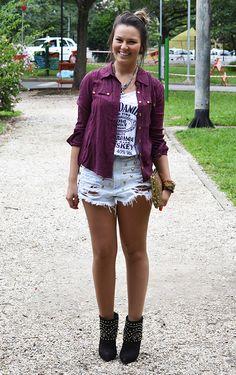 Rock com glamour! por Camila Coutinho em março 27, 2013
