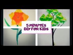 Hi, Everyone,today's video is all about 5 minutes craft. enjoy this video and d. Craft Work, Creative Crafts, 5 Minute Crafts, The Help, Projects To Try, Make It Yourself, Flowers, Youtube, Kids