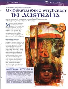 Witchcraft Around the World: Understanding Witchcraft in Australia...