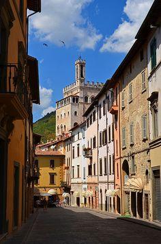 Gubbio, Umbrië, www.luxetent.nl/italie