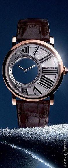 Rotonde de Cartier Mystery ♥✤ Watch