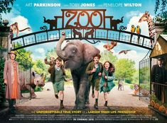 Zoo - new movie trailer and poster: https://teaser-trailer.com/movie/zoo/  #Zoo #ZooMovie #ArtParkinson #TobyJones #PenelopeWilton #Elephant #ColinMcIvor