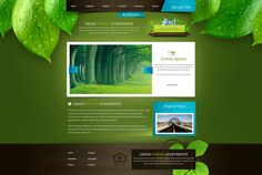 Green Forest Apartments by ~Sansana #webdesign #trends