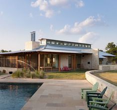 Flaming Goat Ranch Furman + Keil Architects - Austin, TX, US 78701