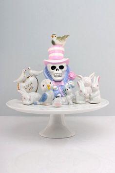 KATRIN RODEGAST Skulls, Snow Globes, Paper Art, Illustration Art, Home Decor, Fiestas, Papercraft, Decoration Home, Room Decor