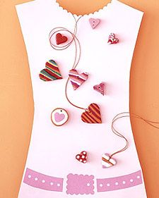 Clay Hearts Jewelry