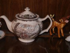 vintage johnson brothers TEAPORS | ... vintage acquisition my Johnson Brothers Friendly Village Teapot