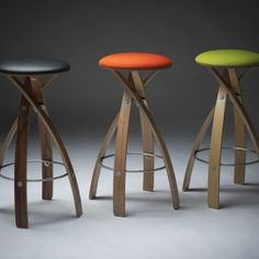 Stave Stool by Witt Design