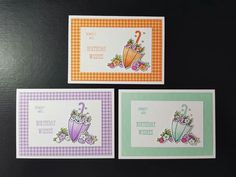 Weather Cards, Umbrella Cards, Homemade Birthday Cards, Easter Wishes, Under My Umbrella, Stamping Up Cards, Card Making Inspiration, Card Sketches, Sympathy Cards