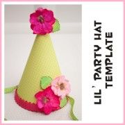 Fabric Party Hat HowTo Makes Me Wish I Had A Little Girl Maybe