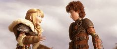 ASTRID AND HICCUP THO