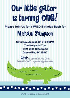 Alligator swamp birthday party invitation by southernsevenpaperie alligator swamp birthday party invitation by southernsevenpaperie 2000 drew pinterest alligators party invitations and birthdays filmwisefo