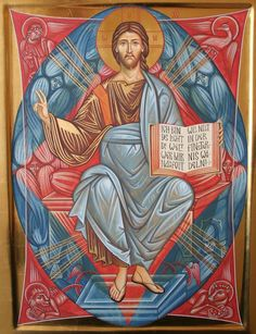 Christ in Glory Christ Pantocrator, Inspirational Bible Quotes, Religious Icons, Orthodox Icons, Sacred Art, Christian Art, Religion, Faith, Belgrade