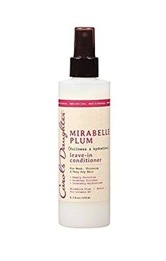 Carols Daughter Mirabelle Plum Fullness and Hydration Leave-In Conditioner, 8 Ou… - Modern Leave In Conditioner, Hair Conditioner, Oily Hair, Hair Restoration, Hair Shampoo, Carol's Daughter, Plum, Your Hair, Stuff To Do