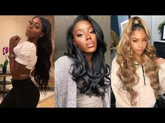 (85) Stunning Fall 2021 Hairstyles for Black Women - YouTube Black Hair Inspiration, Stunning Women, Black Women Hairstyles, Hair Trends, Lady, Hair Styles, Youtube, Hairstyles For Black Women, Hair Plait Styles