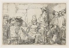 Buy online, view images and see past prices for Rembrandt van Rijn Christ seated disputing with the doctors. Invaluable is the world's largest marketplace for art, antiques, and collectibles. Rembrandt Drawings, Rembrandt Etchings, Paul Klee Art, The Doctor, Merian, Amazing Drawings, Classic Image, Gravure, Art Google