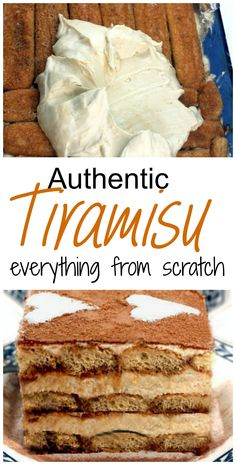 This is the Tiramisu recipe that Italian grandma's make.  Insanely creamy, homemade sweet, mascarpone, layered in a pan with espresso and  either rum or kahlua soaked lady's fingers, PLUS - a caramel latte version of Tiramisu!
