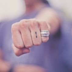arrow for him, and a heart for her!