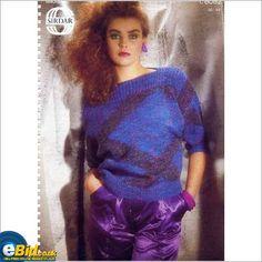 Ladies Aran sweater / jumper knitting pattern for Aran yarn Sirdar patterns 8082 on eBid United Kingdom