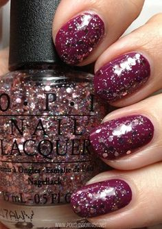 OPI Pink Yet Lavender (over Anti-Bleak) 3