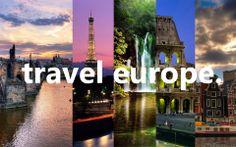 travel europe. bucket list.