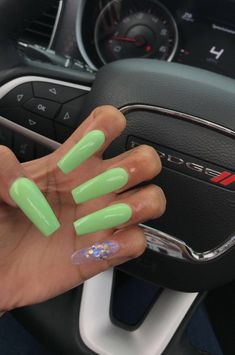 Light Colored Nails, Light Nails, Baby Nails, Girls Nails, Dope Nails, Nails On Fleek, Stiletto Nails, Coffin Nails, Pretty Nail Colors